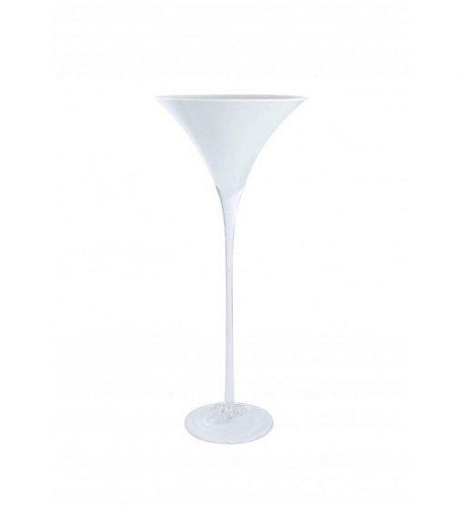 Vase Martini Blanc 70cm