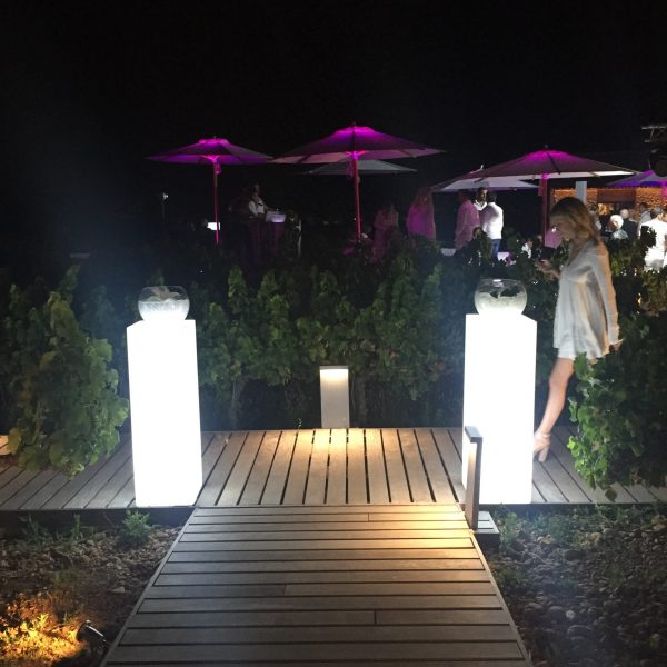 Pink Event Location Inspiration Lumineux Ambiance Eclairage (10)