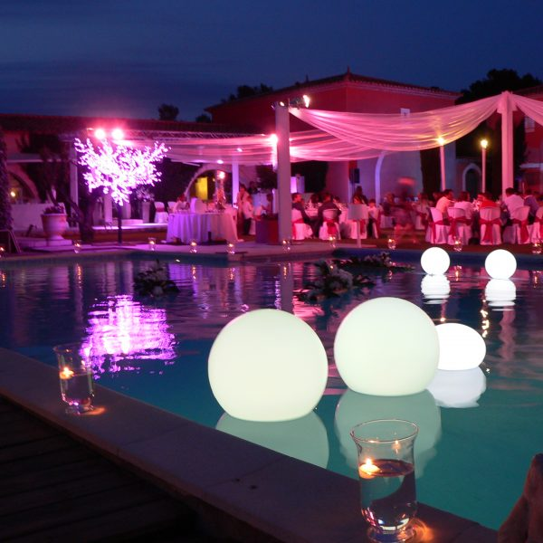 Pink Event Location Inspiration Lumineux Ambiance Eclairage (12)