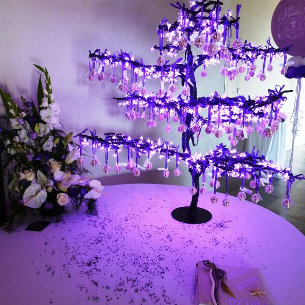 Pink Event Location Inspiration Lumineux Ambiance Eclairage (2)