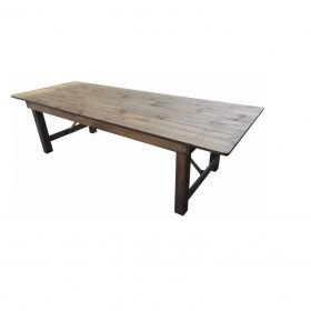 Table Bois Heritage Champetre 213 X 102 Cm