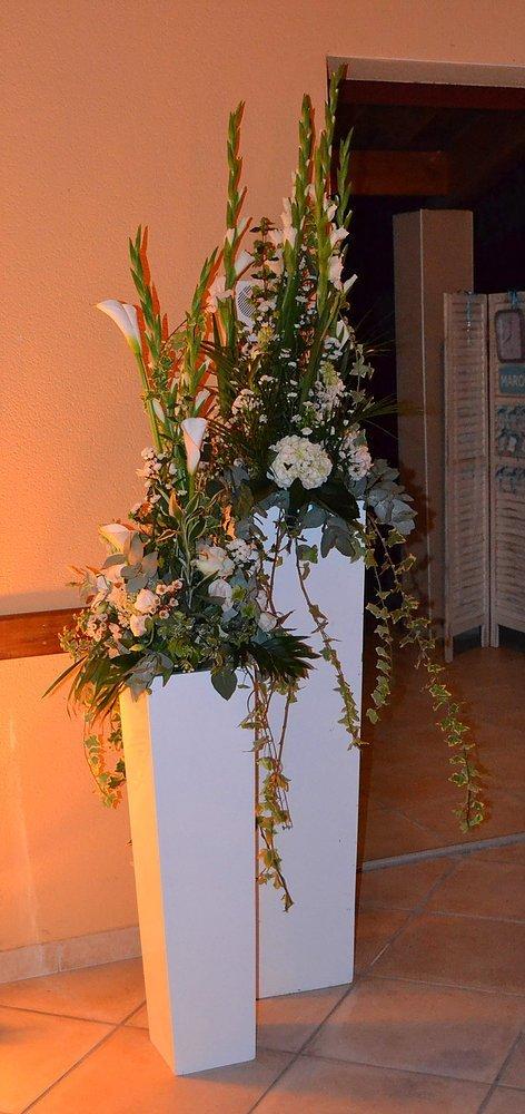 Vase Blanc Laque 2