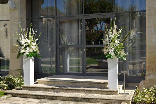 Vase Blanc Laque