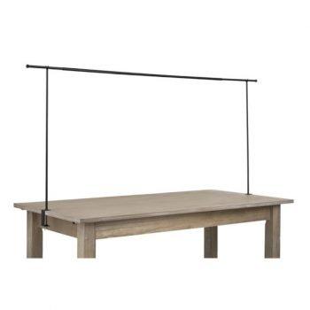 Barre Decorative Pour Table Ajustable Metal Noir Location