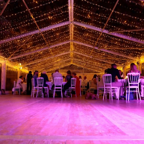 Ciel Etoile Mariage Pink Event Installation Location Guirlandes Led