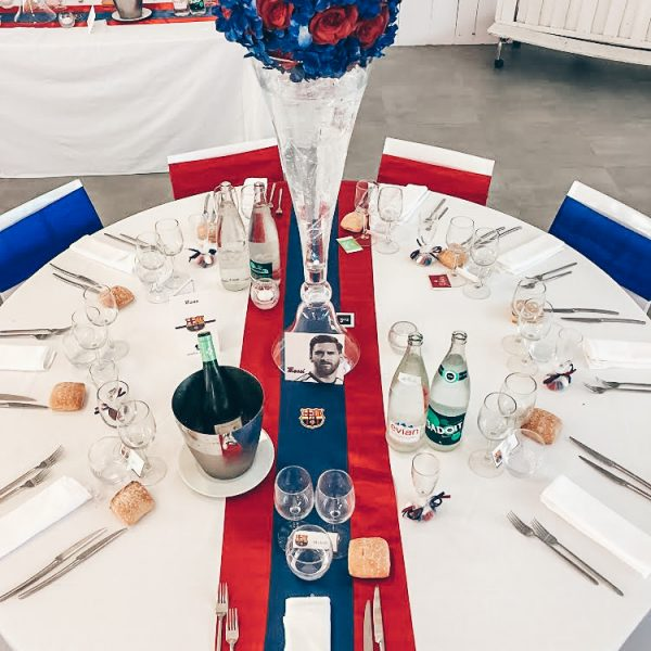 decoration mariage football real madrid