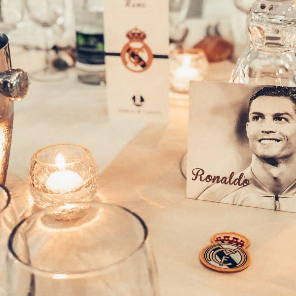 mariage football ronaldo