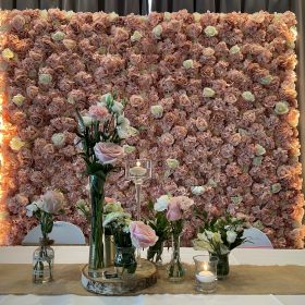 mur floral rose location