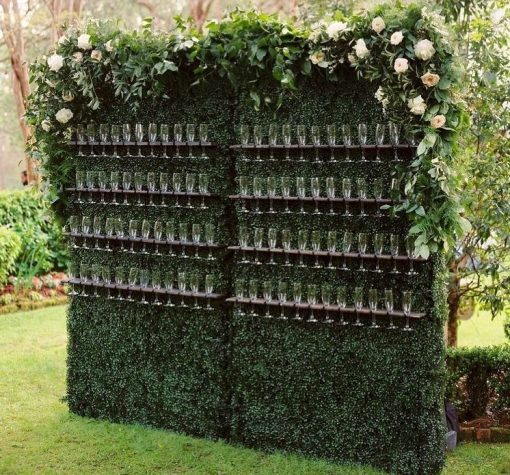 mur vegetal a champagne sur pied location mariage anniversaire accueil pink event