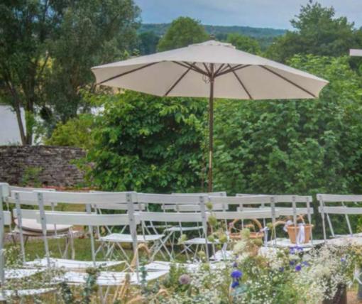 location parasol ecru mariage ceremonie furniture